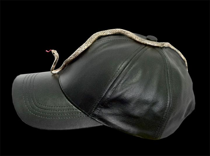 Gold Plated Bronze Snake Hat <br>Hackney Festival, 2012