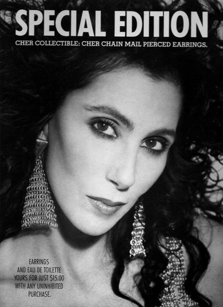 Jewelry Perfume campaign 1988