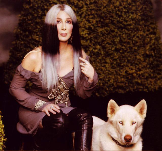 Crystal chain-maille jewelry <br>Cher... Live At Caesar's show program, 2008
