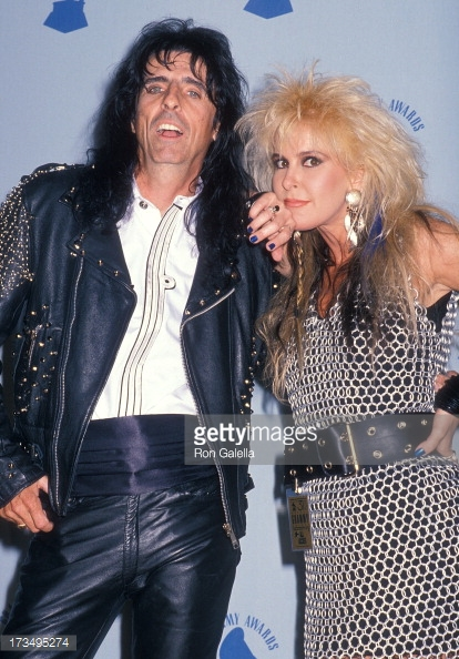Aluminum chainmail dress<br>Worn by Lita Ford<br> Grammy Awards 1993