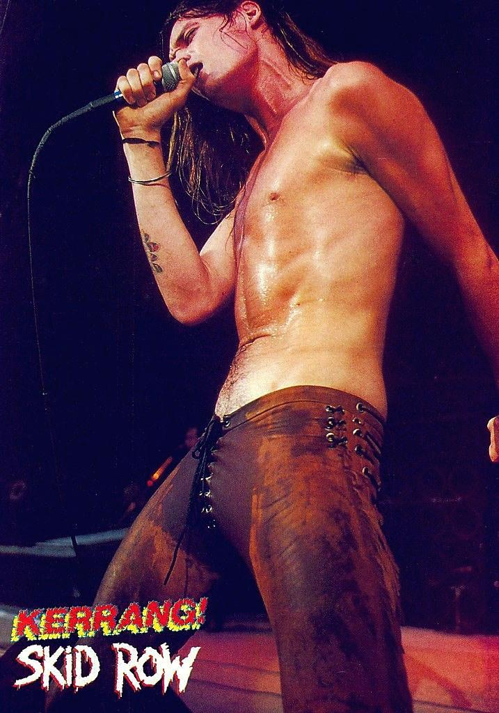 Custom brown leather pants<br>Worn by Sebastian Bach 1986