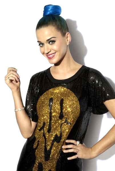 Crystalloid Melting Happy Face metal mesh dress <br>Worn by Katy Perry Stylist: Johnny Wujek
