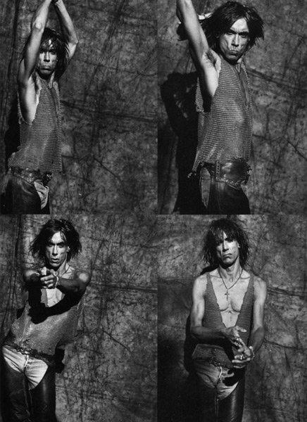 'Cold Metal' promo, 1988 Chain-maile tank Photo: Greg Gorman