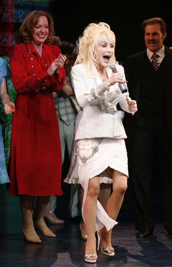 Crystal jewelry and shoe embellishment<br> '9 To 5' Broadway Premier, 2009<br>Designer: Robert Behar